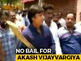 Video : No Bail For Son Of BJP's Kailash Vijayvargiya For Thrashing Official With Cricket Bat