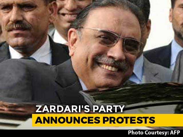 Video : Former Pak President Asif Ali Zardari Arrested By Anti-Corruption Agency