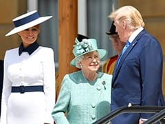 Trump Arrives In UK On 3-Day Visit, Given A Lavish Welcome By The Queen