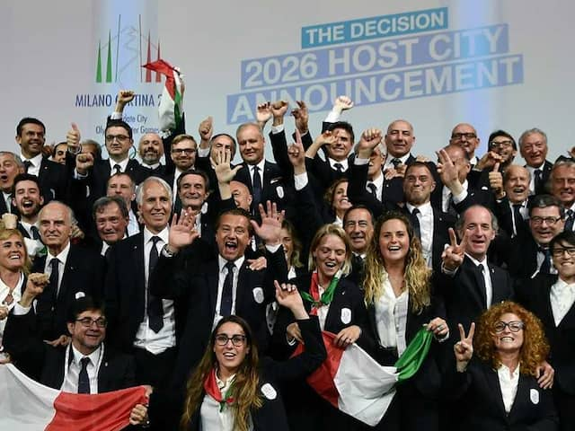 2026 Winter Olympics Will Be Staged In Milan/Cortina dAmpezzo