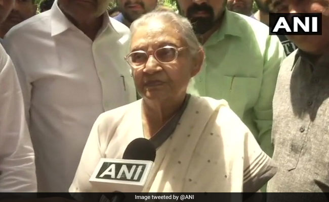 AAP's Free Travel For Women Scheme For Their Own Benefit: Sheila Dikshit