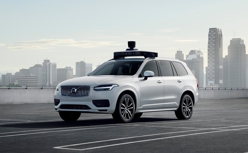 Uber and Volvo's self-driving car, an XC90, will be assembled by Volvo Cars in Sweden