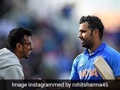 Rohit Sharma Finds Unique Way To Congratulate Yuzvendra Chahal