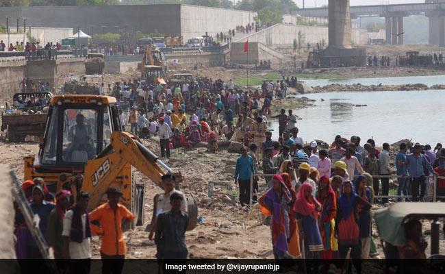 Sabarmati Would Flow As Clean River After Monsoon: Vijay Rupani