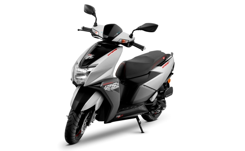 The new TVS NTorq 125 Matte Silver option will be only available in the disc brake variant