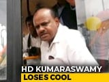 "Video : ""You Voted For Narendra Modi"": HD Kumaraswamy Snaps At Locals On Camera"
