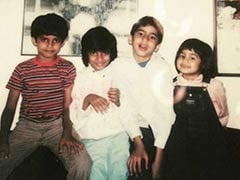 Farhan Akhtar's Throwback Pic Featuring Zoya Akhtar And Cousins Comes With An Interesting Caption