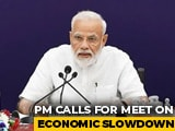 Video : PM Modi To Meet Top Economists Today Amid Concerns Over Slowdown