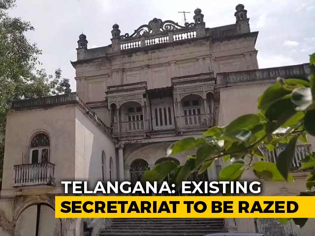 "Video : ""Bad Vaastu"" To Bring Telangana A New Assembly, Secretariat Building"