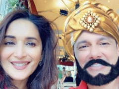 Madhuri Dixit Shares A Pic With Her 'Maharaja' Sriram Nene From Italy. Seen Yet?