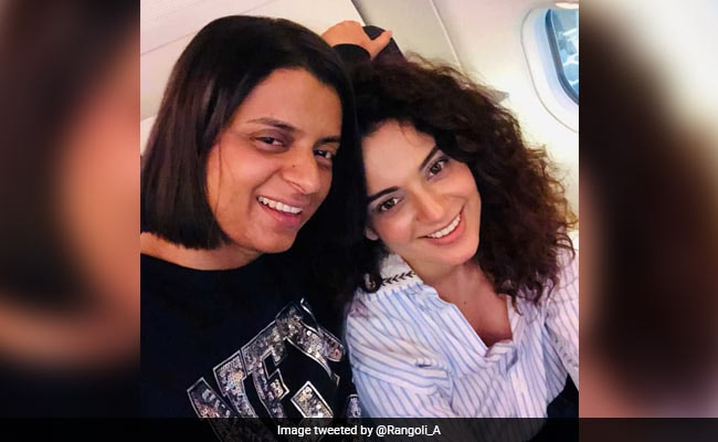 Kangana Ranaut's Sister Rangoli Denies Actress Is Helping Sunaina Roshan For Own Benefit