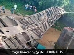 Train Plunges After Bridge Collapses In Bangladesh, 4 Dead, Over 100 Hurt
