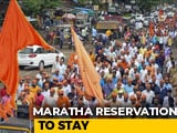 Video : Bombay High Court Confirms Maratha Quota, But Says 16% Not Justifiable