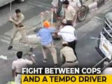 Video : On Video, Street Fight Between Delhi Cops And Driver Who Pulled Out Sword