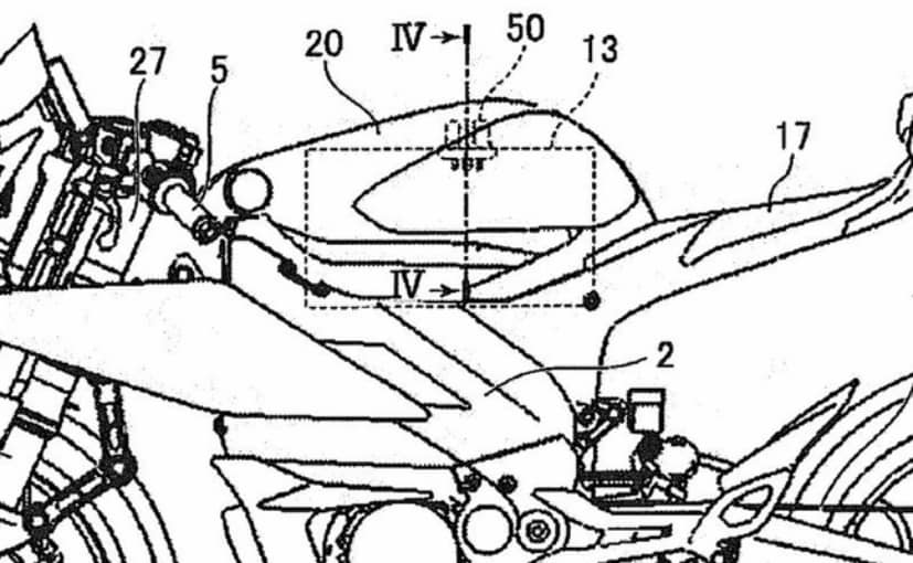 Yamaha Patent Images Reveal Electric Motorcycle