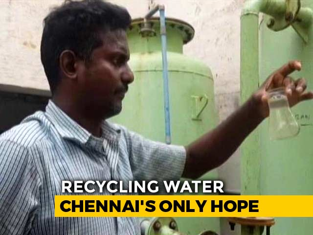 Video : Amid Water Crisis, How Chennai Residents And Hotels Are Saving Water