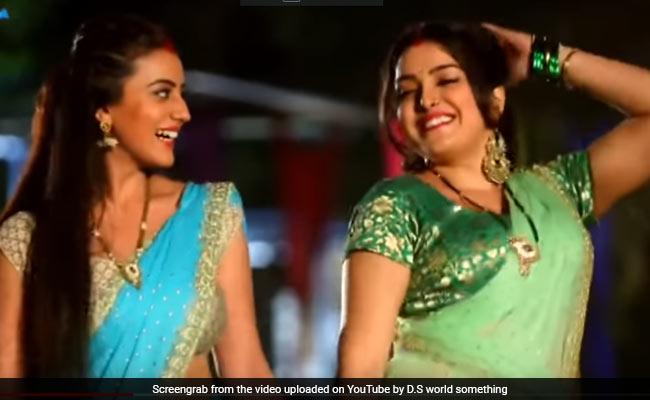 Bhojpuri Cinema: आम्रपाली दुबे ने अक्षरा सिंह के साथ यूं किया धमाकेदार डांस, बार-बार देखा जा रहा Video