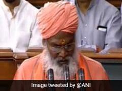 साक्षी महाराज के शपथ लेने पर संसद में लगे 'मंदिर वहीं बनाएंगे' के नारे, तो सोनिया ने राहुल को इशारा कर कही ये बात