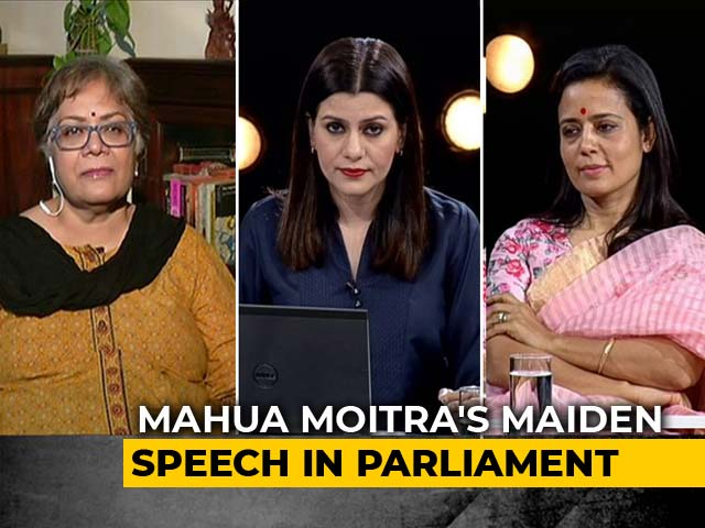 Video : Trinamool Lawmaker Mahua Moitra Warns Of 'Early Signs Of Fascism'