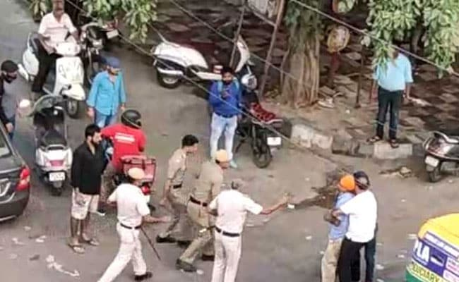2 Cops Dismissed After Probe In Delhi's Mukherjee Nagar Incident