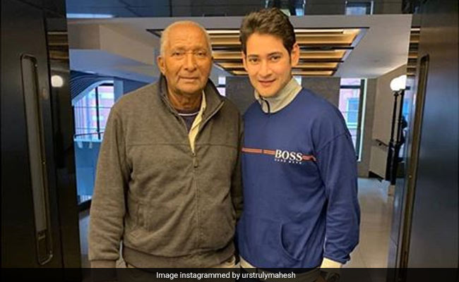 Mahesh Babu's 'Huge Fanboy Moment' With Cricket Legend Andy Roberts At The Oval