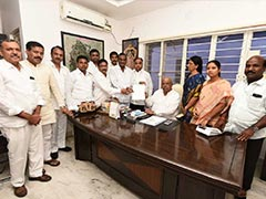 Congress Dissolves In Telangana, 12 Of 18 Lawmakers Join KCR