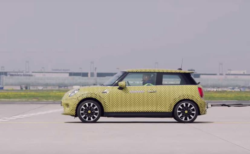 The Mini Cooper SE Electric will make its official debut on July 9, 2019