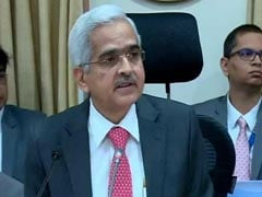 Shaktikanta Das Says GDP Growth Expected To Be Better In September Quarter