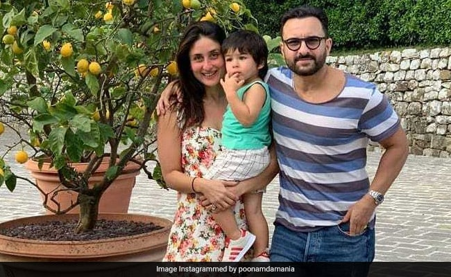 Kareena Kapoor, Saif Ali Khan And Taimur Send Holiday Greetings From Tuscany