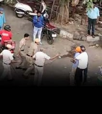 On Video, Street Fight Between Delhi Cops And Driver Who Pulled Out Sword