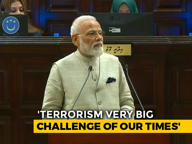 Video : Terrorism A Big Challenge, PM Modi Says At Maldives Parliament