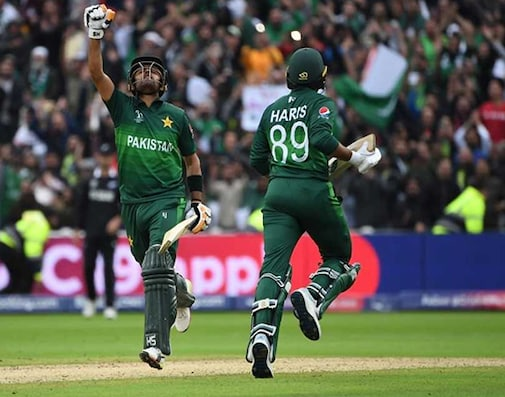 Babar Stars As Pakistan Beat New Zealand To Keep World Cup Hopes Alive