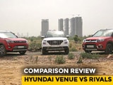 Hyundai Venue Takes On Maruti Suzuki Vitara Brezza And Mahindra XUV300