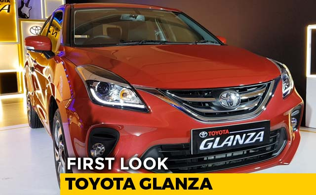 Video : First Look Toyota Glanza