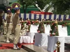 CRPF Pays Tribute To Soldiers Killed In Anantnag Terror Attack