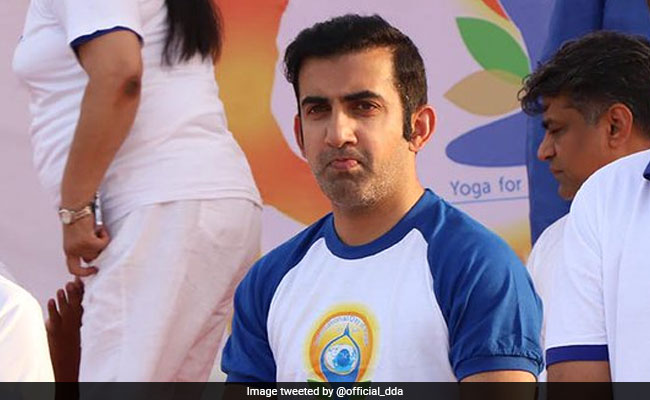 Yoga More Beneficial Than Gymming, Says Gautam Gambhir