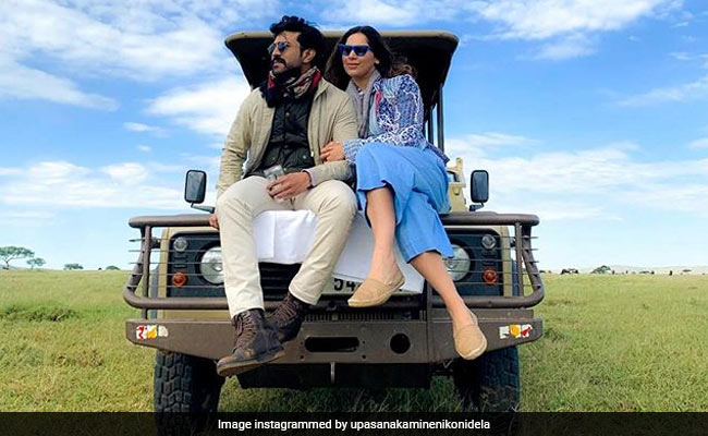 Into The Wild: Ram Charan And Wife Upasana Kamineni's Pre-Anniversary Trip To Africa