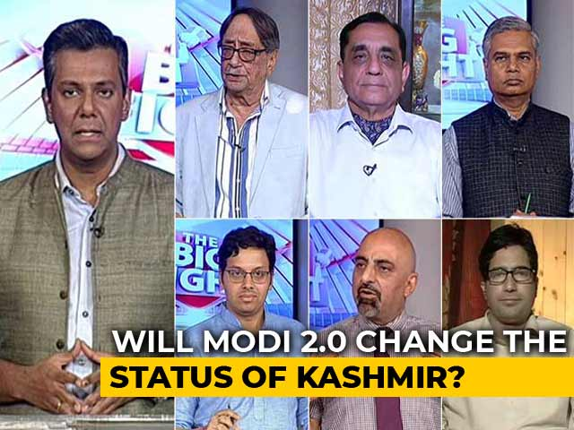 Video : Jammu And Kashmir: Can Modi 2.0 Bring Peace To The Valley?