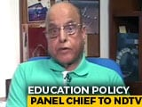 Video : Exclusive: Dr Kasturirangan On Draft National Education Policy 2019