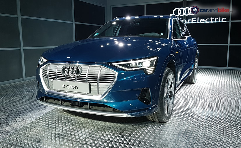 The Audi e-Tron is milestone car because it's the company's first production electric vehicle