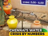 Video : 4 Water Taps Mostly Cater To 50,000 People At Anakaputhur Outside Chennai