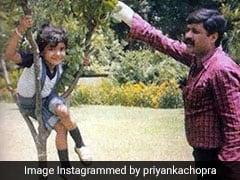 प्रियंका चोपड़ा ने शेयर की बचपन की फोटो, पापा को याद कर हुईं इमोशनल
