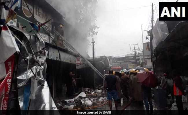 Fire Breaks Out At Market In Siliguri, 4 Fire Engines At Spot