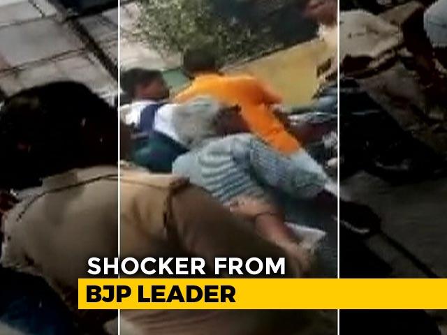 Video : Now, BJP Lawmaker's Son Threatens Cop With Transfer In Uttar Pradesh