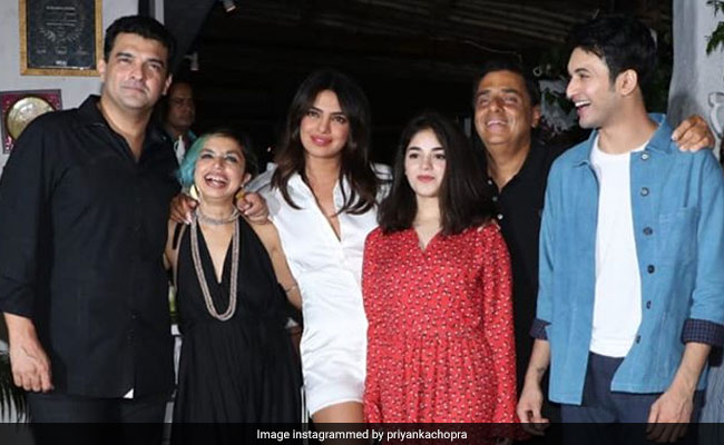 Priyanka Chopra Wraps The Sky Is Pink With A Party And A Heartwarming Note