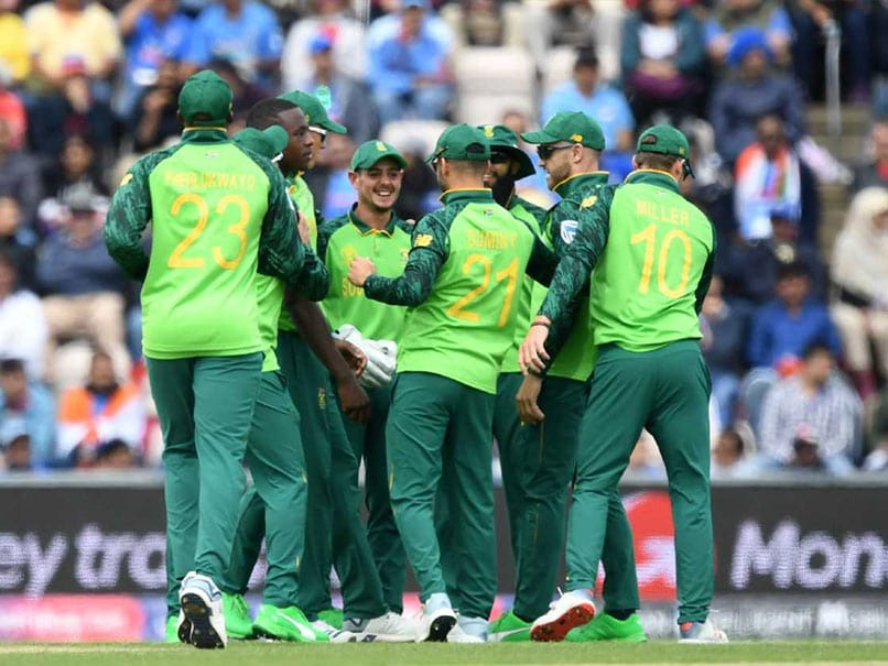 South Africa on the brink after washout against the West Indies