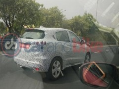 Honda HR-V Spotted Testing In India