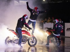 TVS Enters Asia Book Of Records For Longest Stunt Show