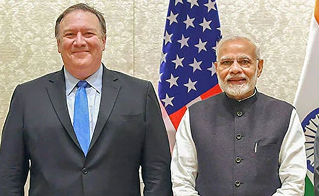 US 'Open' To Trade Dialogue, Says Mike Pompeo Ahead Of India Visit