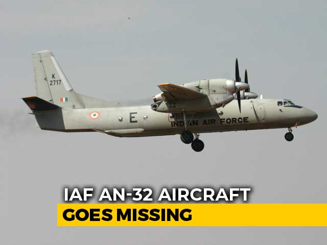 Video : Air Force Plane Carrying 13 Missing After Taking Off From Assam